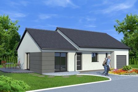 Maison plain pied logis creation for Budget pour construire une maison neuve