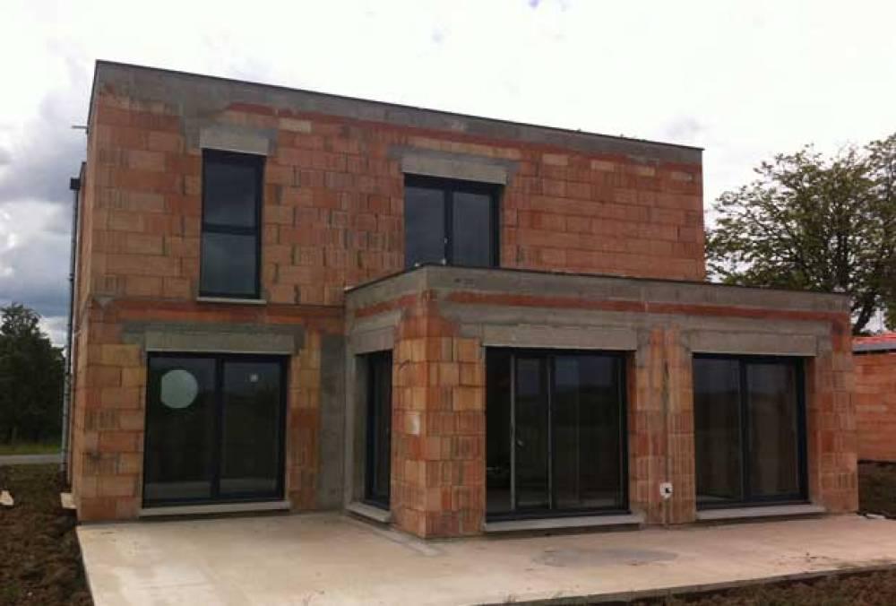 Constructeur de maisons individuelles en moselle logis creation - Constructeur maison moderne toit plat ...